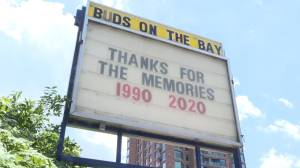 "Brockville's ""Buds on the Bay"" closing in part to covid 19 (01:52)"