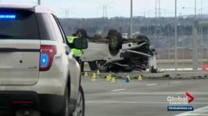 Police investigate deadly crash in northeast Edmonton