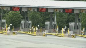 Task force will examine re-opening U.S.-Canada border (02:21)