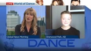 Warman teen Dayton Paradis on his 'World of Dance' appearance