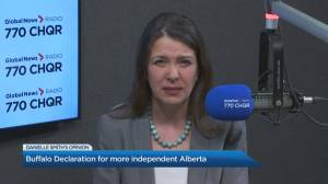 Danielle Smith joins the conversation on Global News Morning Calgary (02:33)