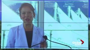 B.C. tourism minister announces details of tour bus and major attraction grants (02:53)