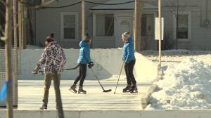 City of Kingston calls on public to follow COVID-19 protocols while using outdoor rinks (01:52)
