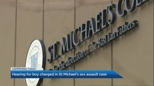 Court hearing for teen charged in St. Michael's College School sex assault case