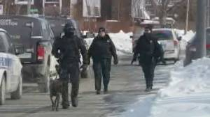 Two suspects arrested after DDO armed break-in, 30 residents evacuated: Montreal police (01:48)