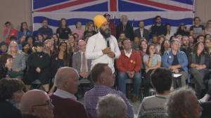 Federal Election 2019: Singh says 'publicly-funded' rehab saved his father's life in emotional exchange at townhall