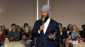 Federal Election 2019: Singh trying to visit all provinces
