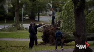 No fatalities recorded in Nova Scotia after Dorian hit Atlantic Canada (00:40)