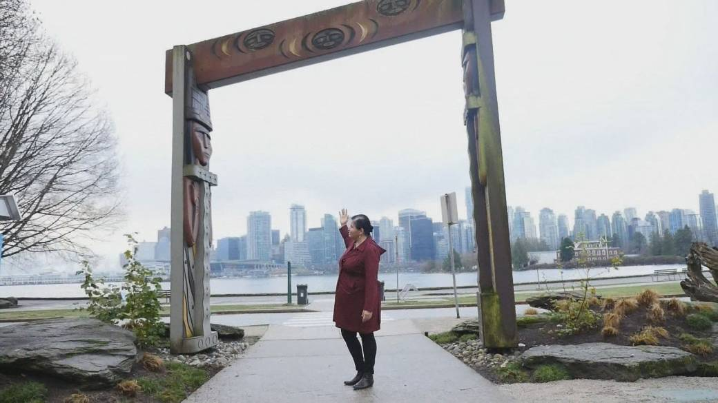 'Touring Stanley Park done  an indigenous lens'
