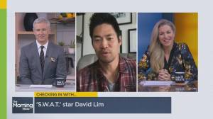 'S.W.A.T' star David Lim talks new episodes and intense fitness training (05:10)