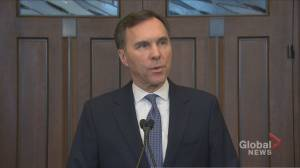 Not one of 14 private-sector economists predicting recession: Morneau