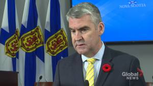Premier Stephen McNeil says findings of lead risk in communities is concerning