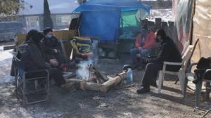 Indigenous blockade at Burleigh Falls dam project enters third week (01:55)