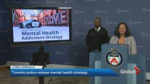 Toronto police release mental health and addiction strategy
