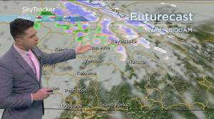 Kelowna Weather Forecast: April 27 (03:42)