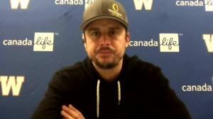 RAW: Blue Bombers Zach Collaros Interview – Oct. 15 (08:01)