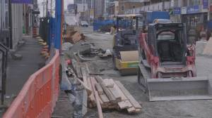 City of Toronto responds to concerns over Little Jamaica disappearing due to LRT construction (02:09)