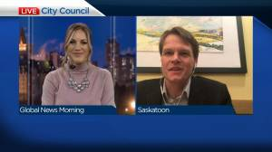 Mayor Charlie Clark on rail relocation, extreme cold (04:15)