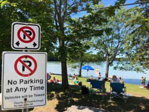 Overcrowding in Trent Lakes causing dangerous parking issues