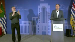 Vancouver mayor on cut to police budget