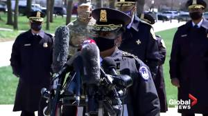 U.S. Capitol police officer, suspect killed after vehicle rams checkpoint outside Capitol building (02:00)