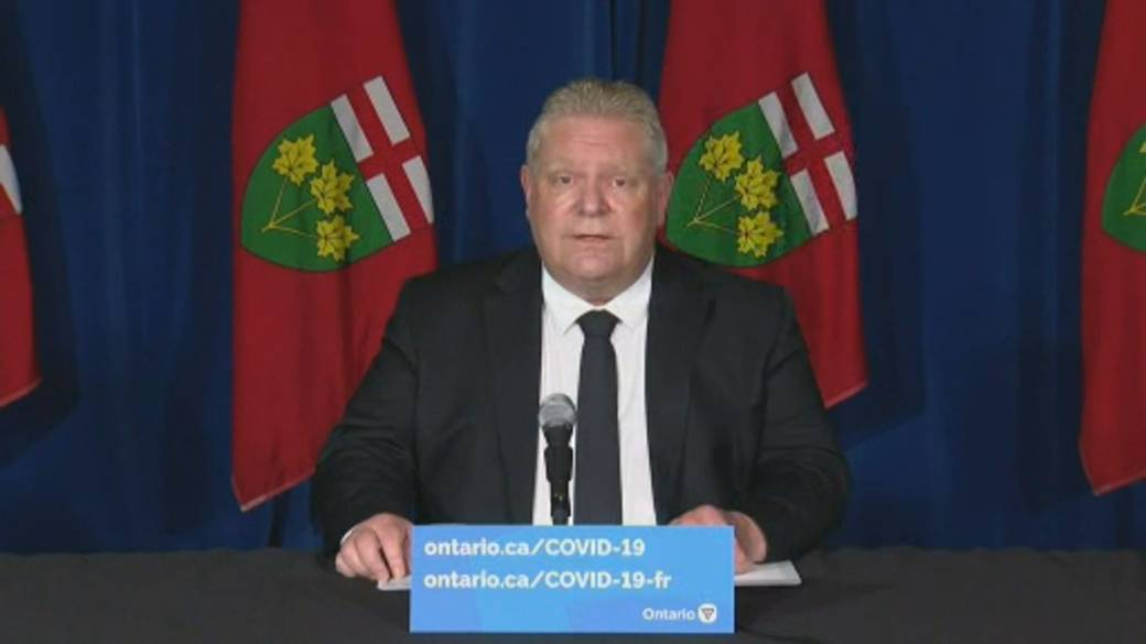Click to play video: 'Ontario to set up border checkpoints, beef up police powers'