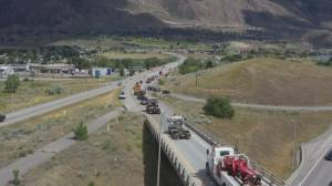 Hundreds in convoy to Kamloops to show support for horrific discovery (02:05)