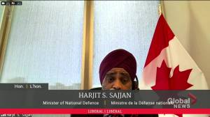 Sajjan repeats claim that immediate action was taken following Gen. Vance misconduct allegations (00:36)