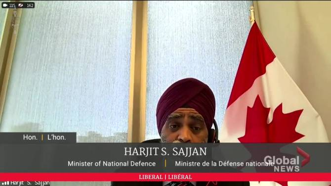 Click to play video: Sajjan repeats claim that immediate action was taken following Gen. Vance misconduct allegations