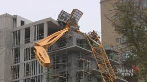 Removal of crane toppled during hurricane Dorian begins Friday
