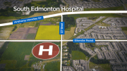 Play video: Work begins on South Edmonton Hospital