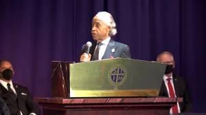 Rev. Al Sharpton calls Daunte Wright 'prince of Brooklyn Center' during eulogy (02:05)