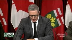 Former OPP interim commissioner Blair describes being fired from role, suing Ontario government