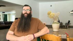 New Brunswick man shaves 13-inch beard after successful fundraiser for Australian wildfire relief