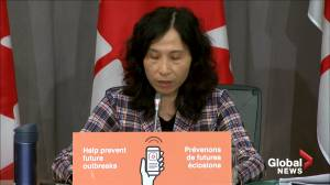 Coronavirus: Dr. Tam discusses Canada's regulatory process after Russia approves COVID-19 vaccine