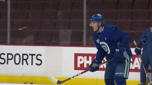 Canucks patience for Adam Gaudette runs out at NHL trade deadline (02:18)