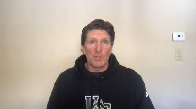 Click to play video: Mike Babcock on returning to Saskatoon to coach the Saskatchewan Huskies