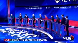 Fierce Democratic debate had Biden clashing against liberals Warren, Sanders