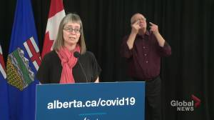 Albertans with COVID-19 becoming more uncooperative during contact tracing: Hinshaw (03:49)