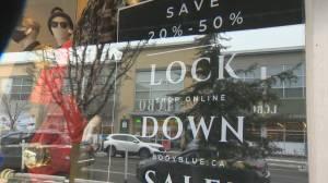 Toronto seeking April-style lockdown measures to avoid January calamity (02:17)