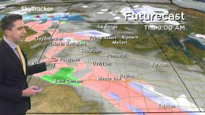 Rain and snow: Oct. 28 Saskatchewan weather outlook (02:44)