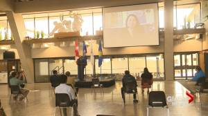Province, feds announce funding for new infrastructure projects in southern Alberta