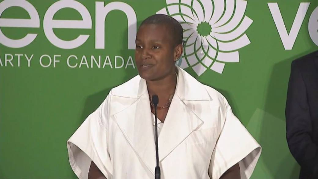 Click to play video 'Annamie Paul elected as new federal Green Party leader'