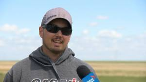 Windy, dry conditions hit Saskatchewan (01:55)