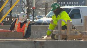 Despite construction coronavirus infections, Toronto industry leaders think work can proceed safely (02:34)