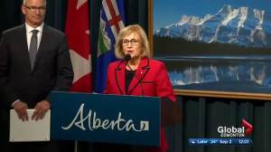 Alberta panel says savings to be found in health, education changes (02:01)