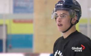An introduction to a local NHL draft prospect Ethan Edwards