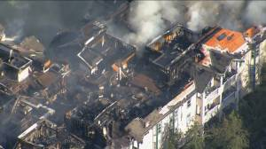 Dozens displaced as fires break out in Mission and Surrey (02:03)