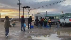 Tap water contaminated in Nunavut's capital, triggering state-of-emergency (02:29)