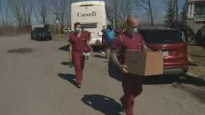 Canadian troops begin mission to assist Quebec nursing homes